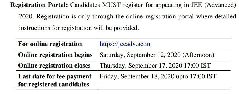 JEE 2020: NTA likely to declare results today at jeemain.nta.nic.in; click here to know more on JEE Adv registrations
