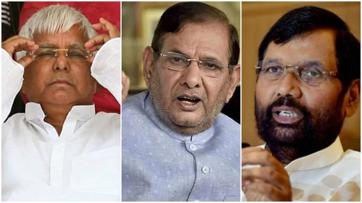 Lalu Prasad, Ram Vilas Paswan and Sharad Yadav: Bihar misses three top leaders as state goes to polls without titans