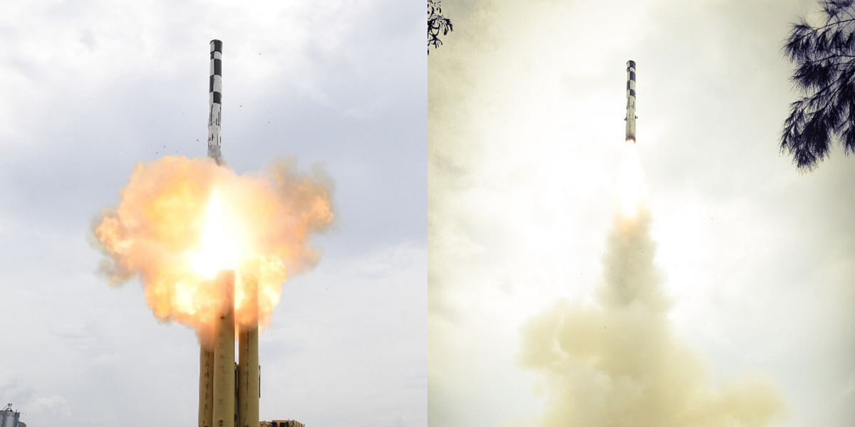 India successfully test-fires BrahMos missile; Defence Minister Rajnath Singh  congratulates DRDO