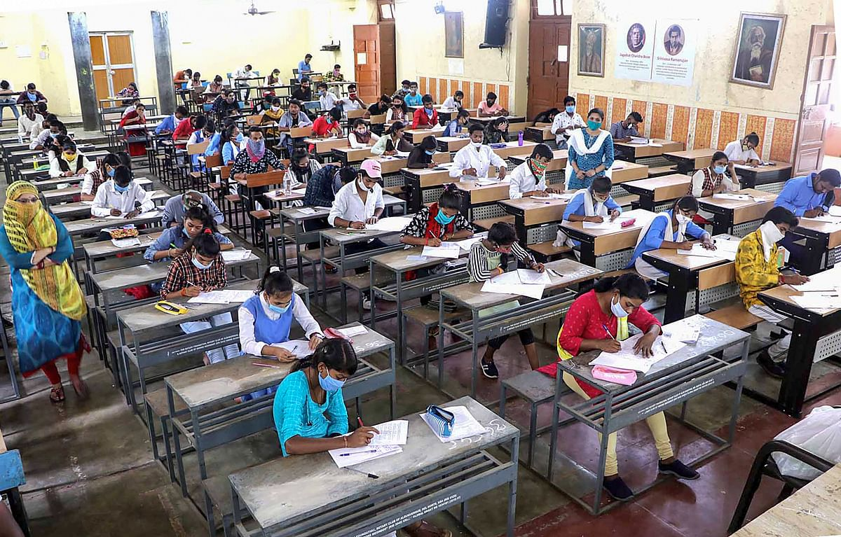 Madhya Pradesh: With all COVID norms, CBSE begins compartment exams of class 10 and 12