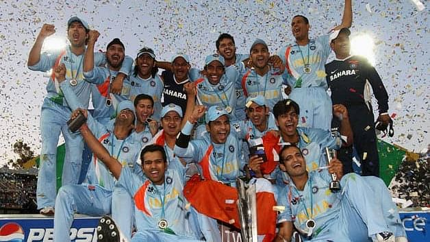 India's 2007 T20 World Cup winning squad