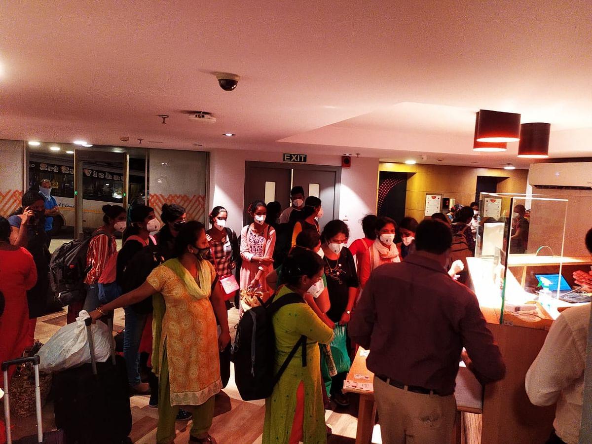 Coronavirus in Pune: COVID Jumbo facility at CoEP gets 40 new nurses from Hyderabad
