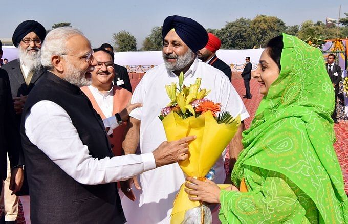 Through SAD and happy times: How BJP and Akali Dal have always been partners