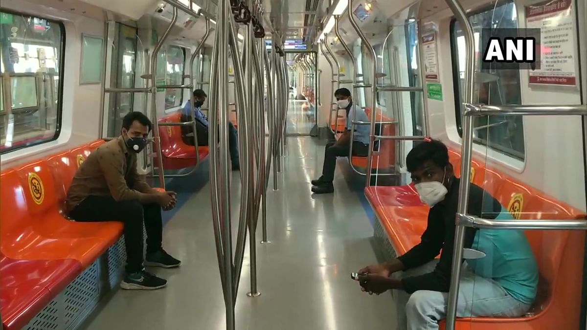 Delhi Metro resumes services on Magenta, Grey lines