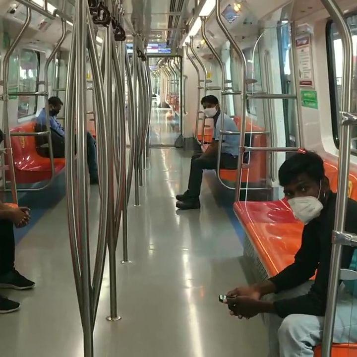 Delhi Metro resumes services on Magenta, Grey lines