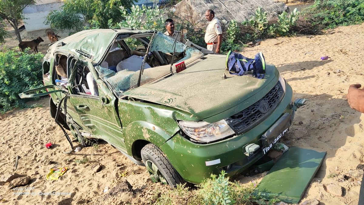Rajasthan: Two Army officers killed after vehicle turns turtle on Bikaner-Jaipur road