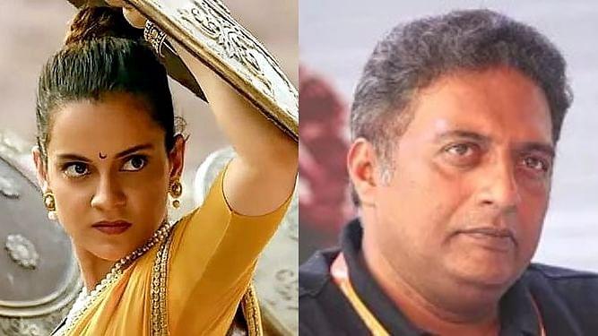 Prakash Raj faces the wrath of Kangana Ranaut's fans after taking a dig at the 'Manikarnika' actress