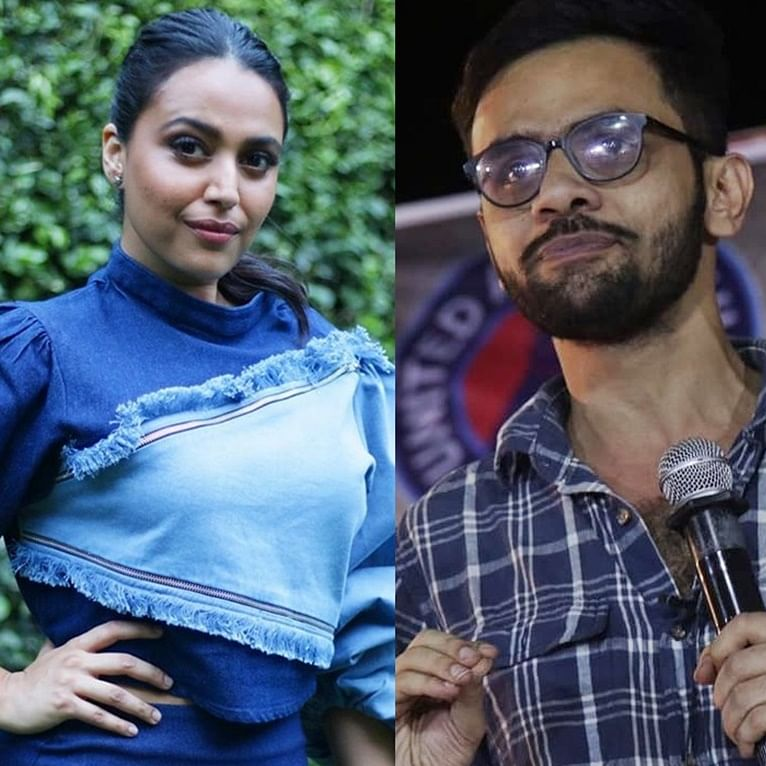 Swara Bhasker, Prakash Raj stand in support of Umar Khalid, arrested in connection with Delhi riots