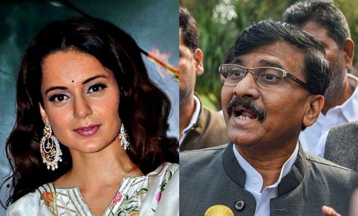 Comparing Mumbai with PoK: Sanjay Raut-Kangana Ranaut verbal duel continues