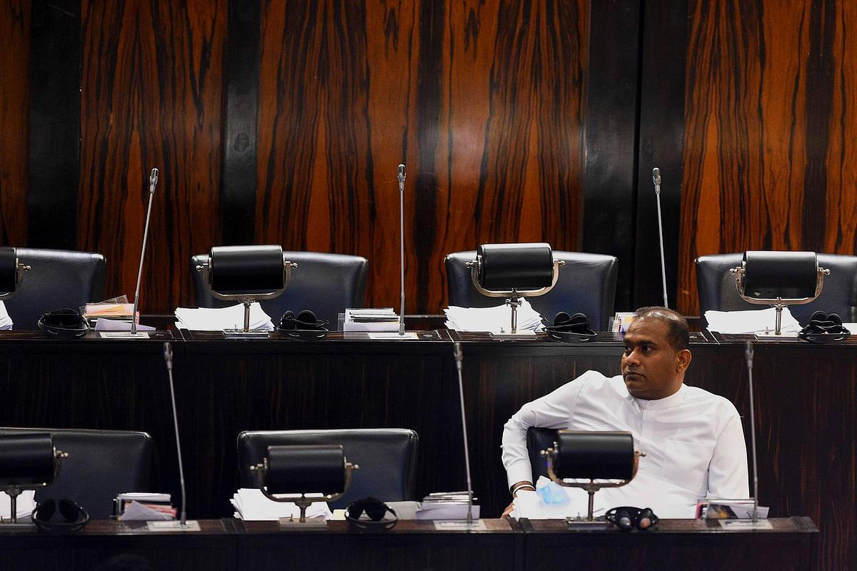 Convicted murderer swears in as Sri Lankan MP