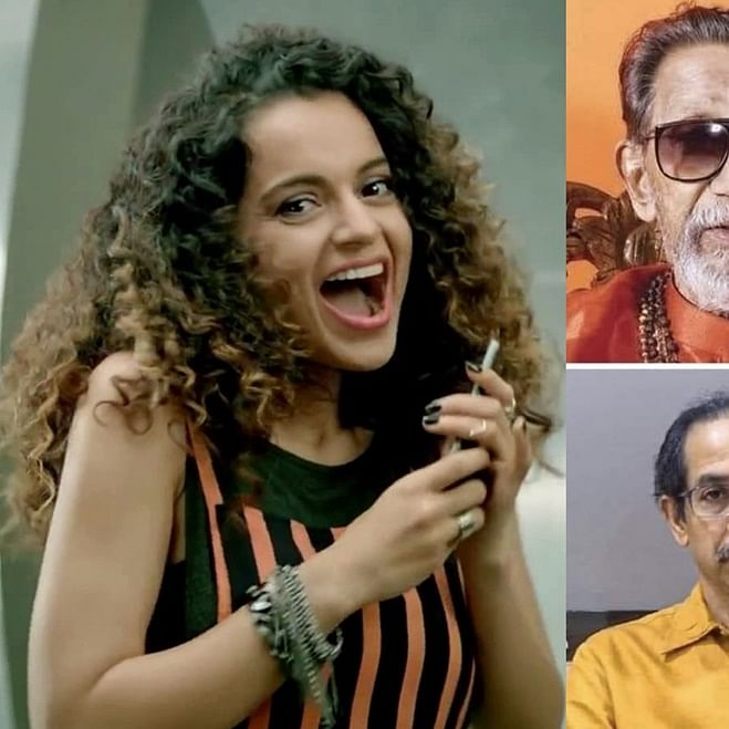 Kangana Ranaut shares meme comparing BMC demolition to Babri Masjid