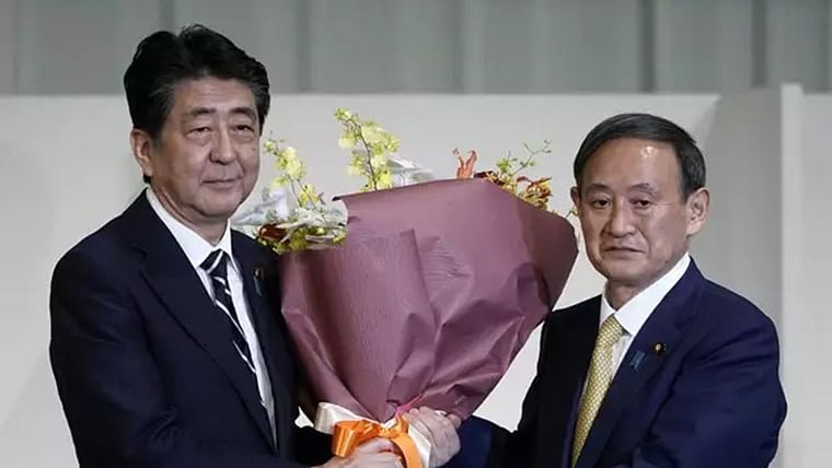 Japan's PM Shinzo Abe resigns, clearing way for successor Yoshihide Suga