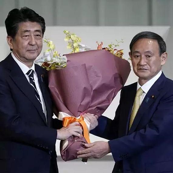 Japan's PM Shinzo Abe resigns, clearing way for successor Yoshihide Suga