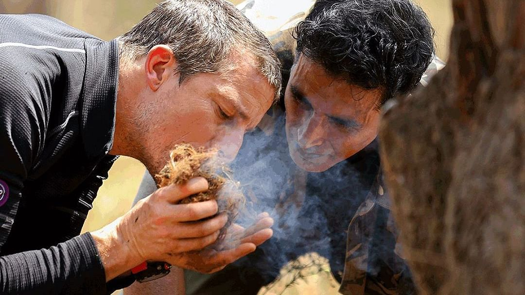 Being on 'Into The Wild with Bear Grylls' has been one of my wildest experience: Akshay Kumar