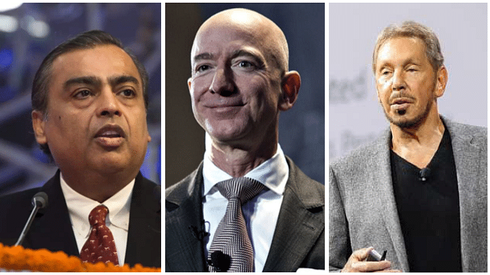 World's top 10 richest as on September 16: Jeff Bezos is numero uno; Mukesh Ambani steady at 6; Oracle's Larry Ellison is 10th richest now
