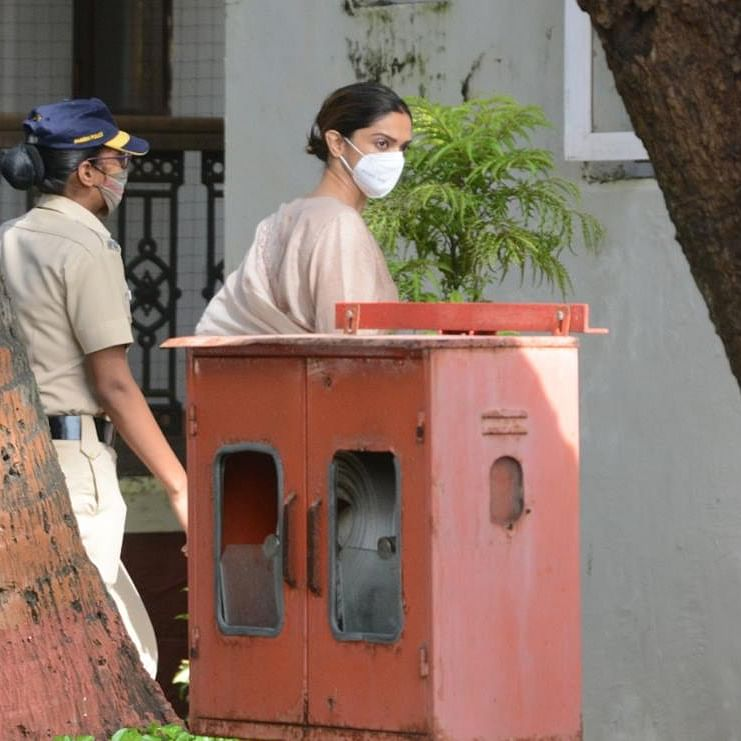 Deepika Padukone reaches NCB office to record statement in drugs case