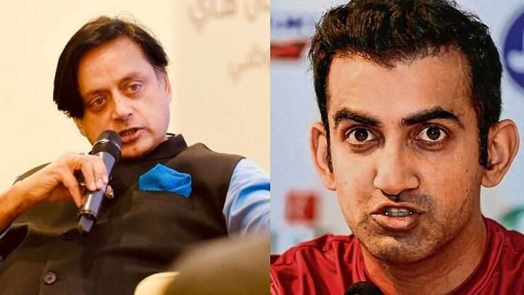 Sanju Samson doesn't need to be next MS Dhoni: Gautam Gambhir and Shashi Tharoor spar on Twitter after RR vs KXIP
