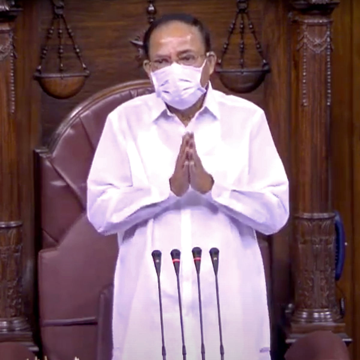 Parliament Monsoon Session: Venkaiah Naidu announces retirement of 11 Rajya Sabha members