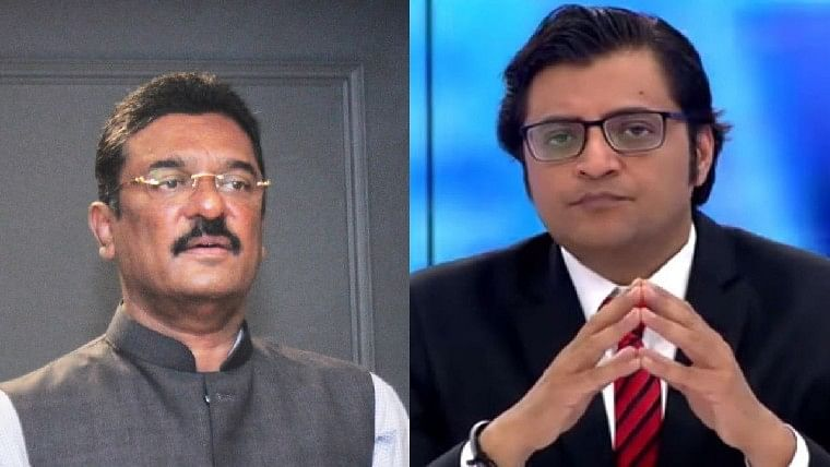 Shiv Sena MLA Pratap Sarnaik moves privilege motion against Republic TV's editor Arnab Goswami