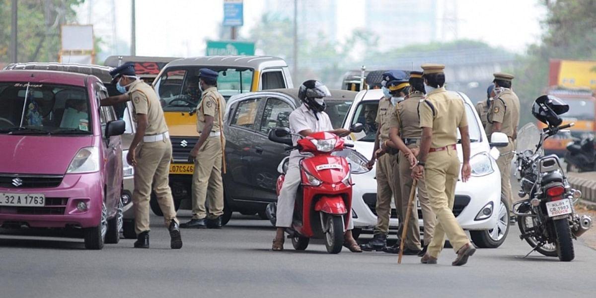 Cop stops bereaved family's car, faces flak
