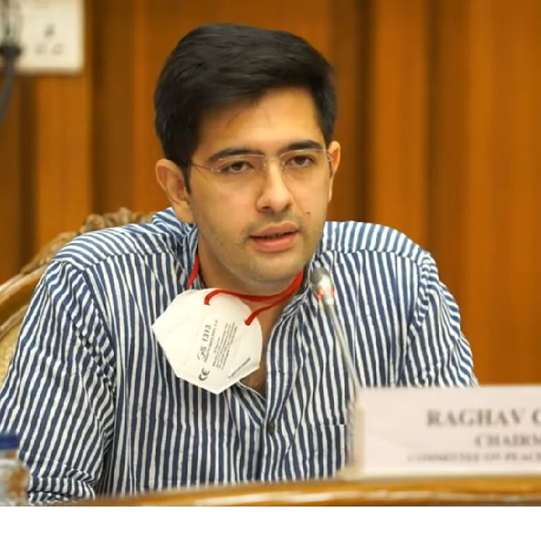 AAP MLA Raghav Chadha's car window smashed, laptop stolen