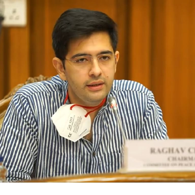 Those calling protesting farmers anti-nationals should go to Pak: AAP's Raghav Chadha