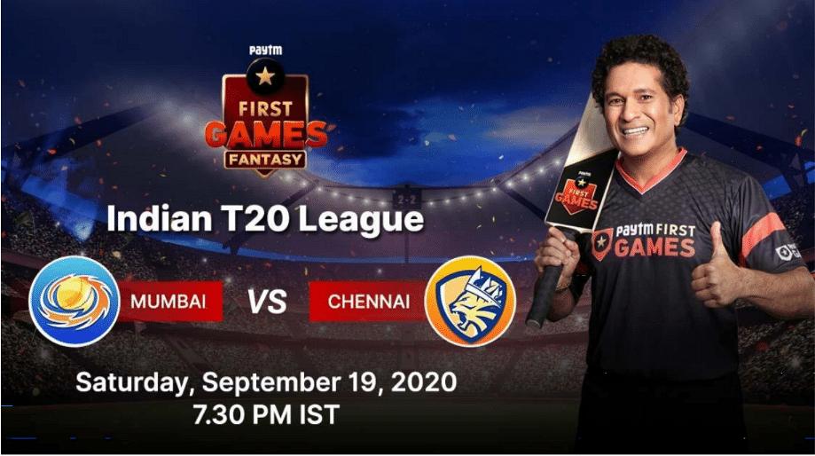 Mumbai vs Chennai: Paytm First Games Fantasy Prediction: Indian Premier League T20