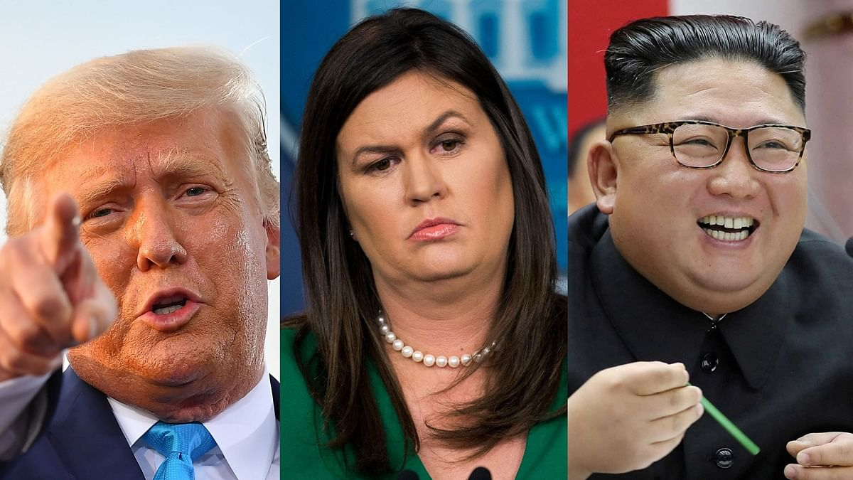 'Take one for the team': Trump to Sarah Huckabee Sanders after Kim Jong-un winked at her!
