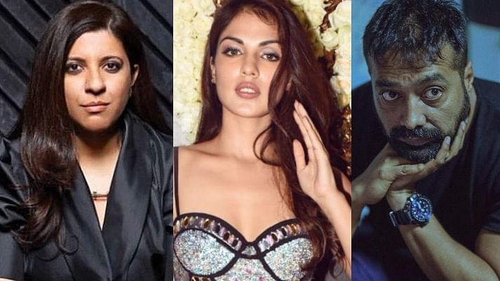 'Seen you be kind to Salman Khans, Sanjay Dutts of this world': Bollywood celebs condemn Rhea's media 'witch-hunt'