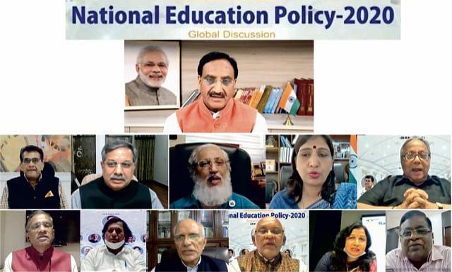 International Webinar on New Education Policy at KIIT