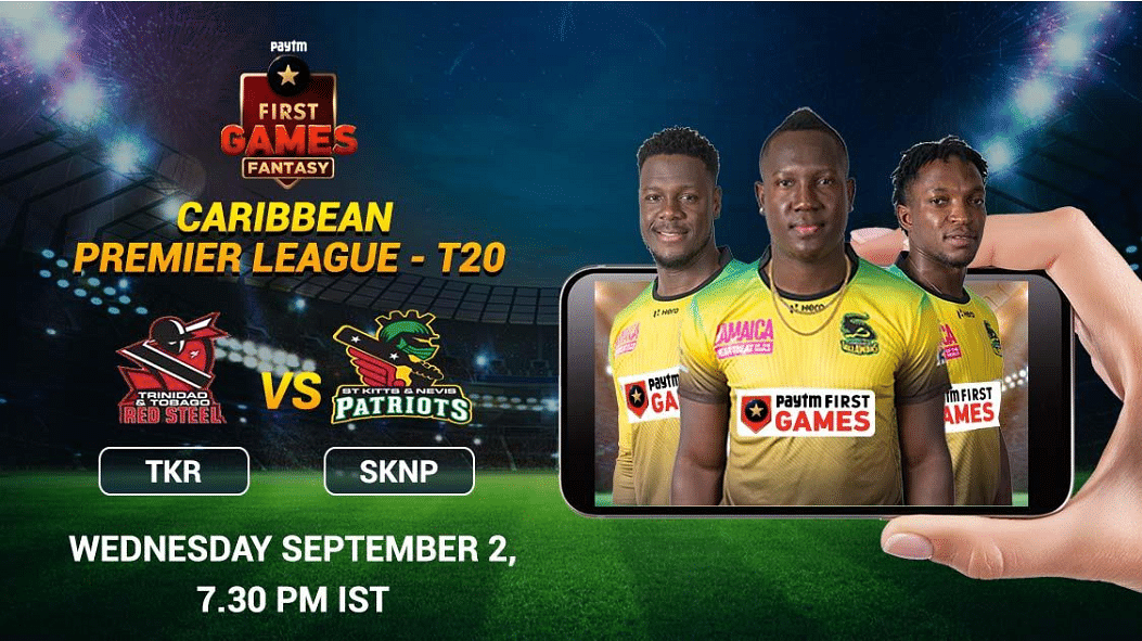 Trinbago Knight Riders vs St. Kitts and Nevis Patriots: Paytm First Games Fantasy Prediction: CPL –T20
