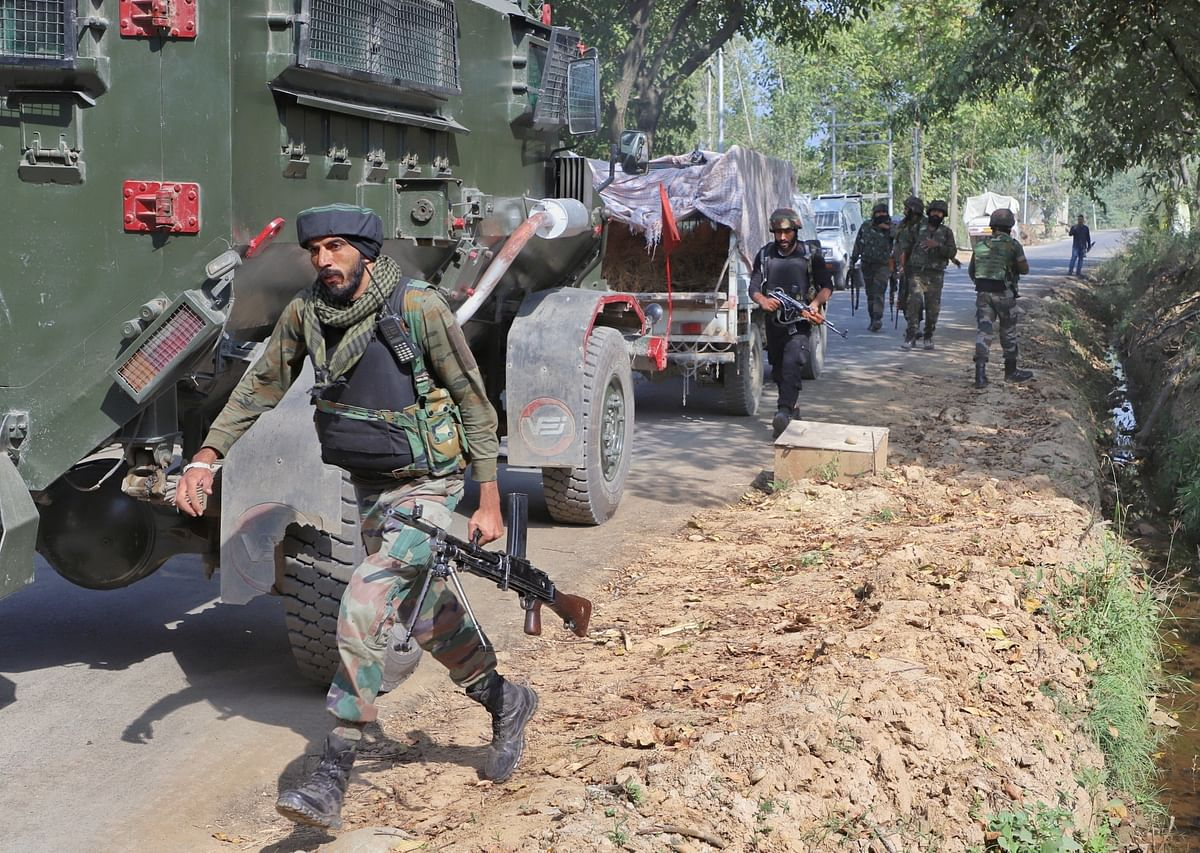 CRPF personnel killed in militant attack in Jammu and Kashmir