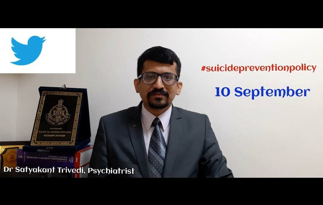 Madhya Pradesh: Bhopal psychiatrist launches Twitter campaign for suicide prevention policy
