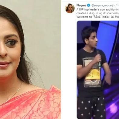 Congress leader Nagma Morarji falls for fake video of BJP leading threatening 'Dance India Dance' judges; deletes post