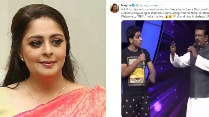 Congress leader Nagma Morarji falls for fake video of BJP leading threatening 'Dance India Dance' judges; deletes post