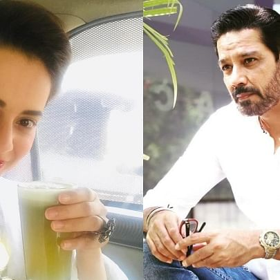 'Crime Patrol' fame Anup Soni takes a sly dig at Kangana Ranaut over claims that 99% of Bollywood consumes drugs