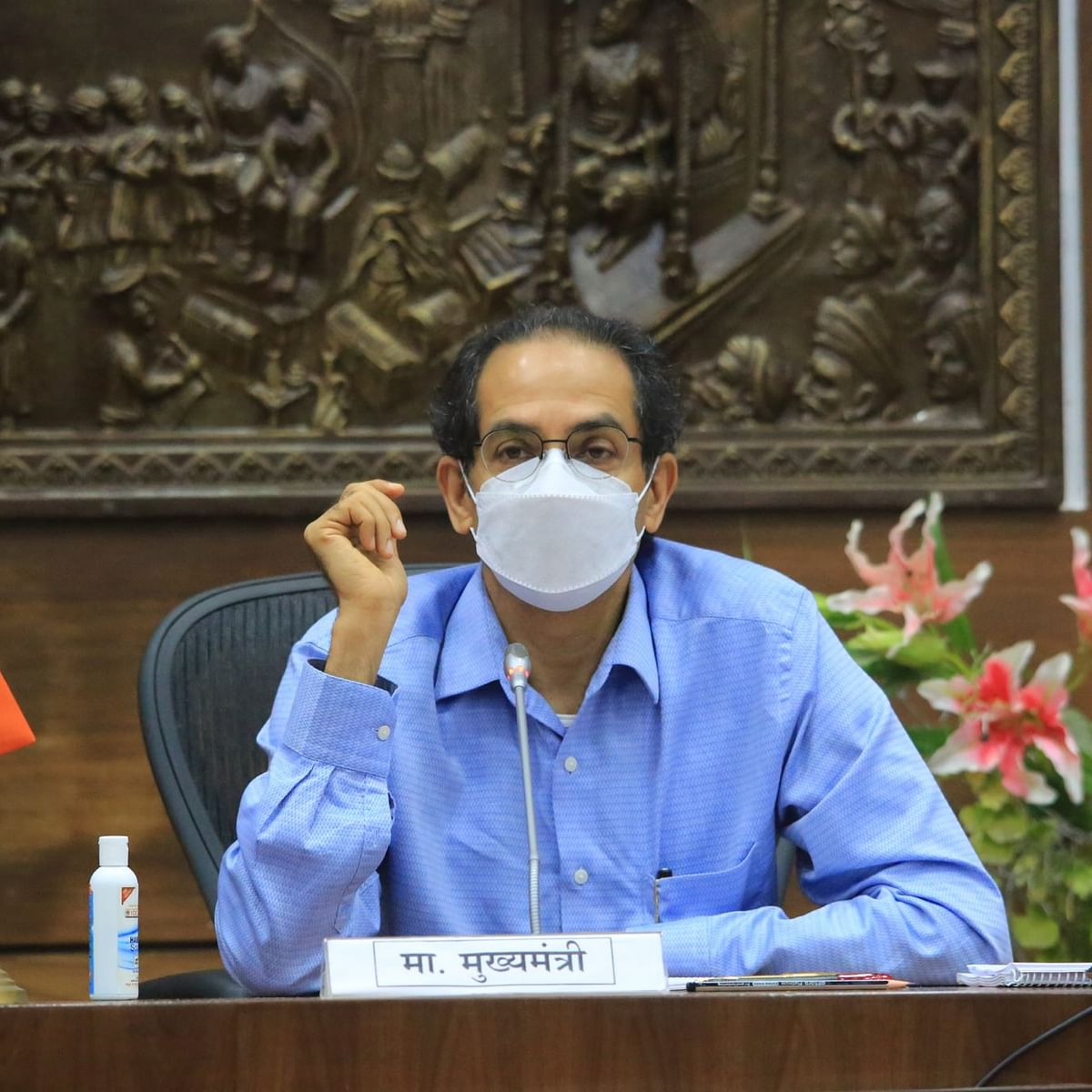 Uddhav Thackeray takes stock of COVID-19 situation in Mumbai, directs admin to focus on management of hospital beds and oxygen supply