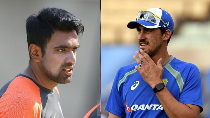 R Ashwin responds after fan asks him to learn from Mitchell Starc on 'mankading'