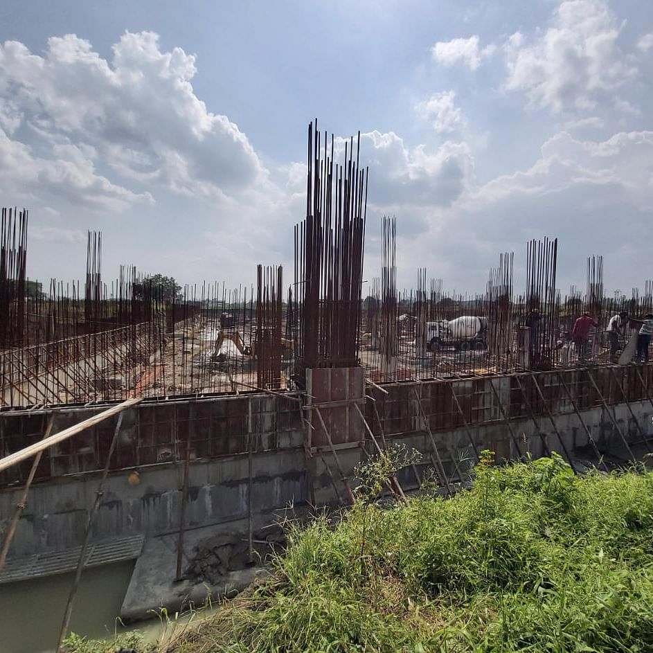 Indore: ISBT building work on but authorities feel labour 'pangs'