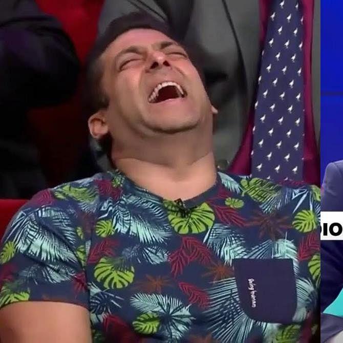 Salman Khan fans trend #ArnabNeedsRabiesTreatment, India Today editor joins in