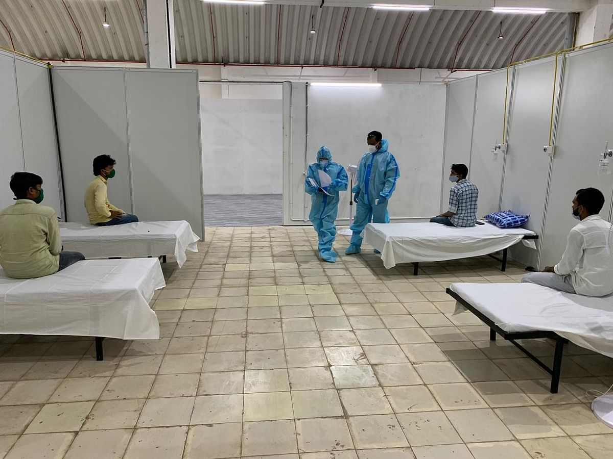Thane Municipal Corporation sets up new COVID-19 hospital at Wagle Estate