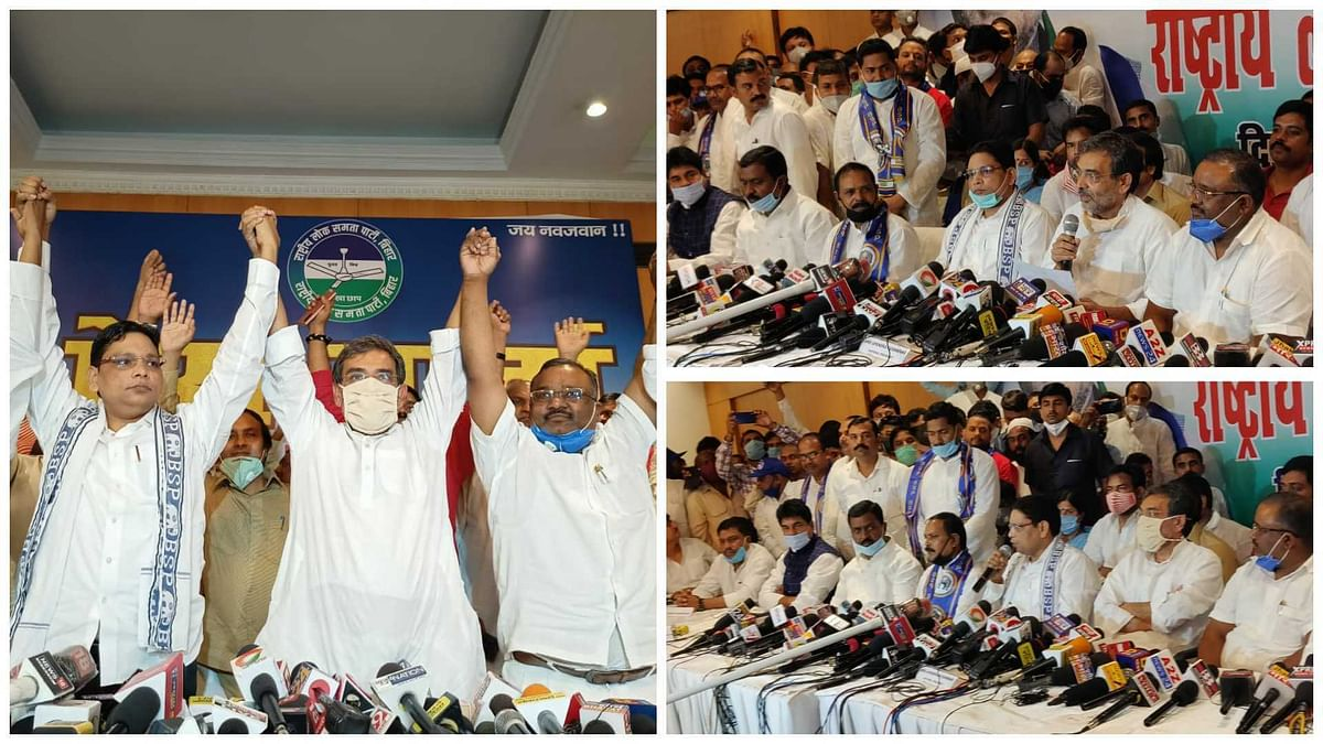 Third front? RLSP, BSP, JP-S join hands to contest all 243 seats in Bihar polls