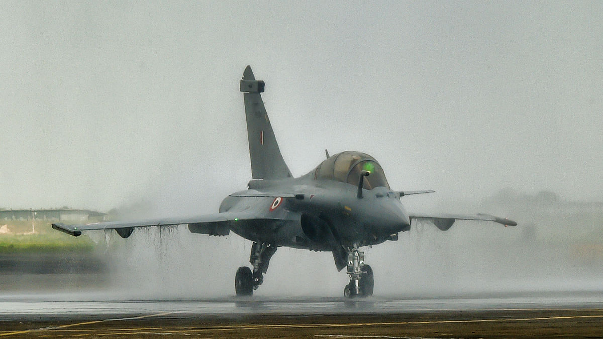 Five Rafale jets formally inducted into IAF in boost to India's air power