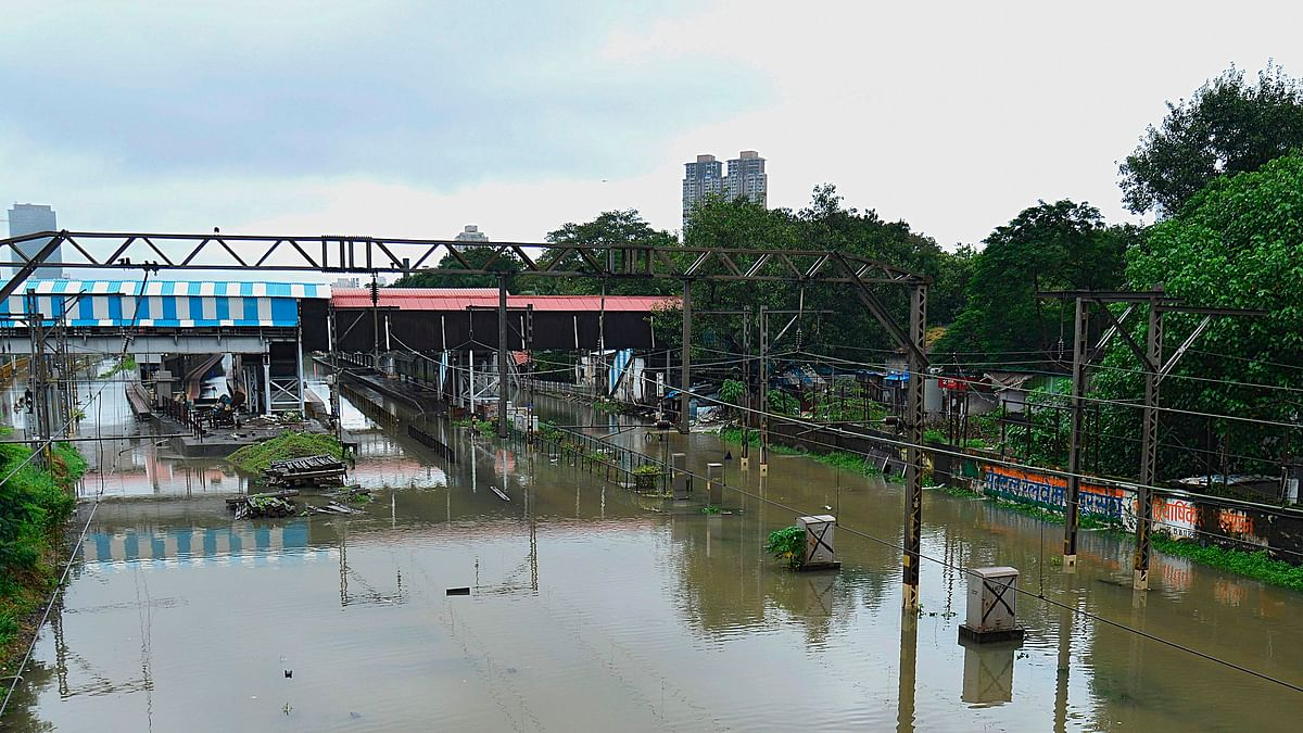 Mumbai Rains: Heavy rainfall disrupts suburban rail services on WR, CR