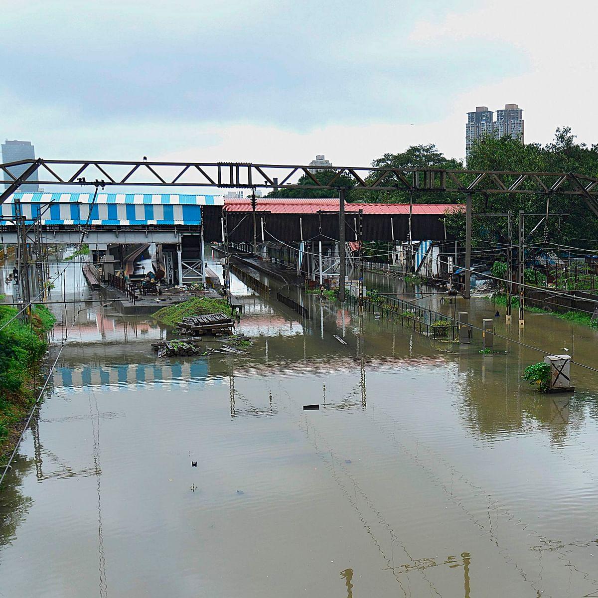Mumbai Rains: Heavy rainfall disrupts suburban rail services on WR, CR