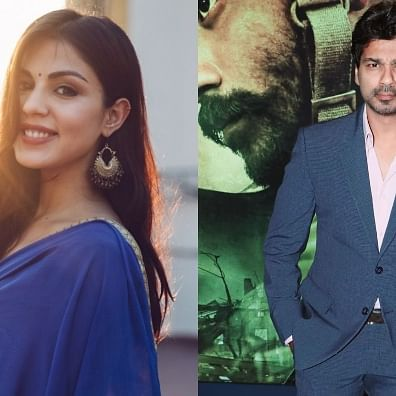 'When all this is over, we would like to work with you': Nikhil Dwivedi to Rhea Chakraborty