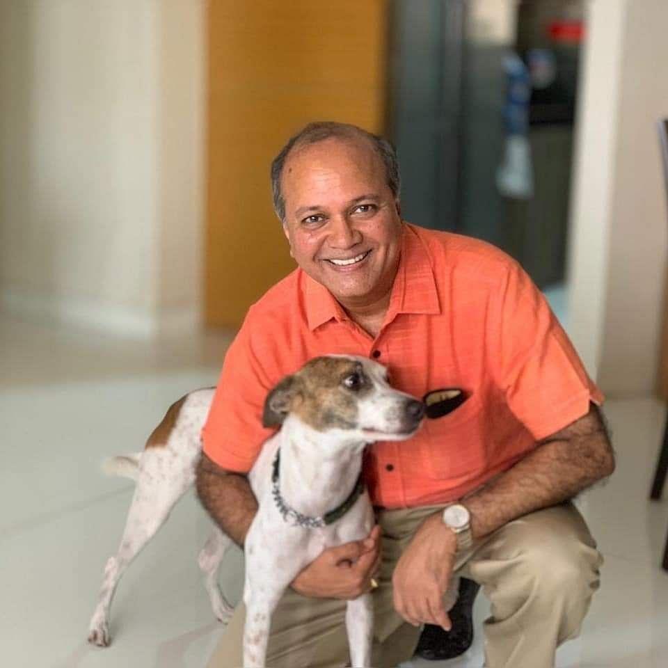 Ramesh Narayan with Missy