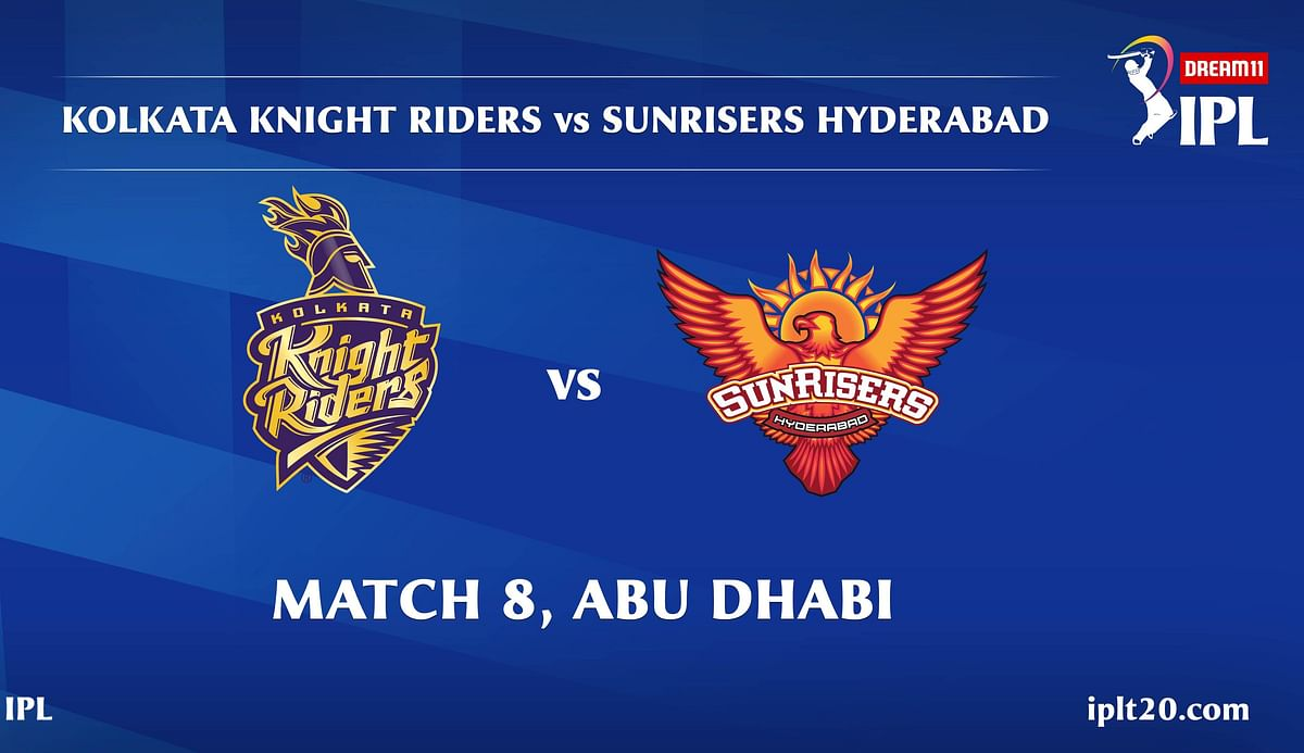Kolkata Knight Riders vs Sunrisers Hyderabad LIVE: Score, Commentary for the 8th match of IPL 2020