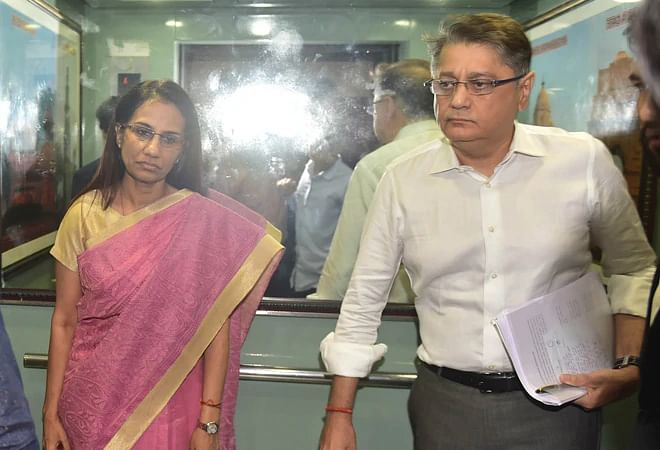 Ex-ICICI chief's hubby arrested