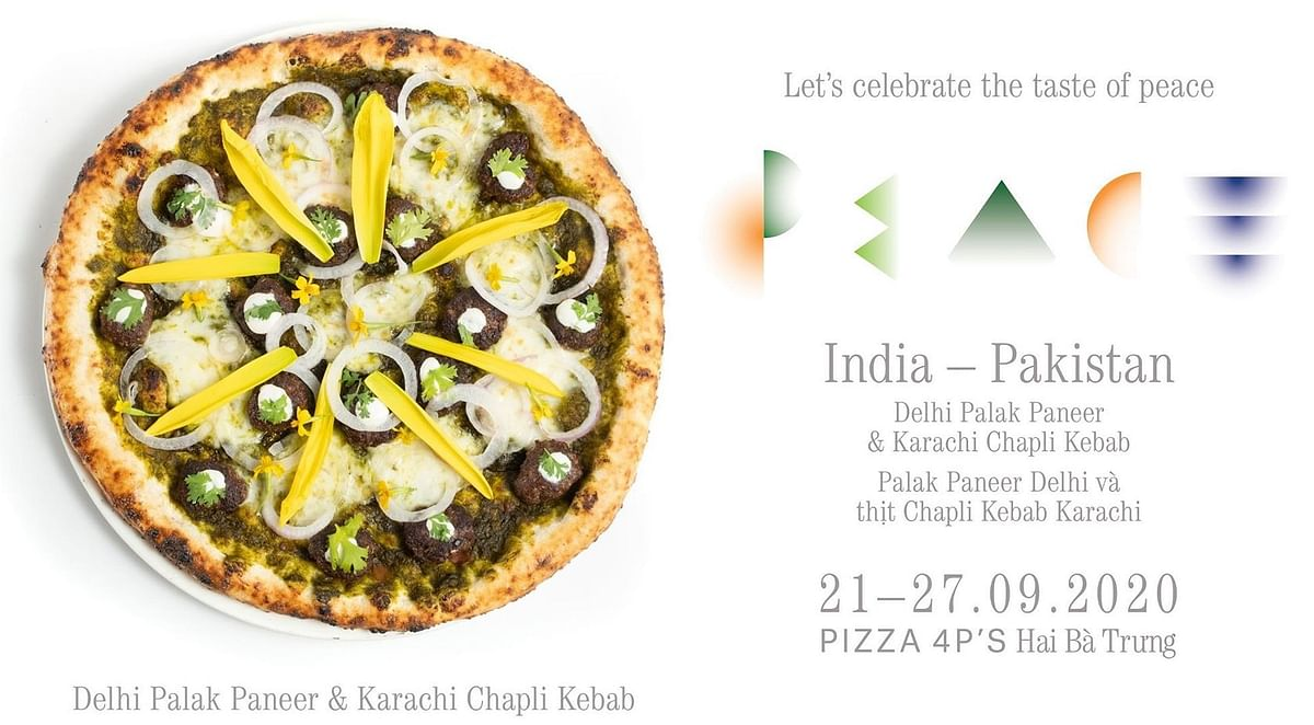Twitter grossed out by India-Pakistan Peace Pizza, prefers 'nuclear war' instead
